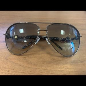 Authentic Gucci Chain Aviators (4225/S)